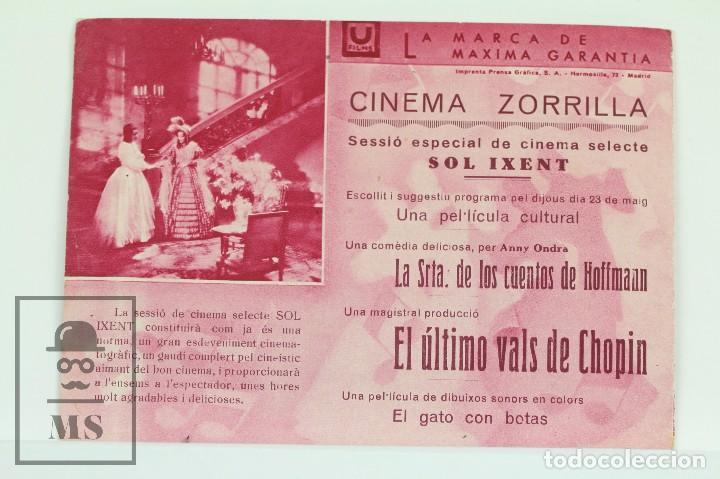 Cine: Programa de Cine Doble - El Ultimo Vals De Chopin / Sybille Schmitz - Ufilms - Foto 3 - 102705387