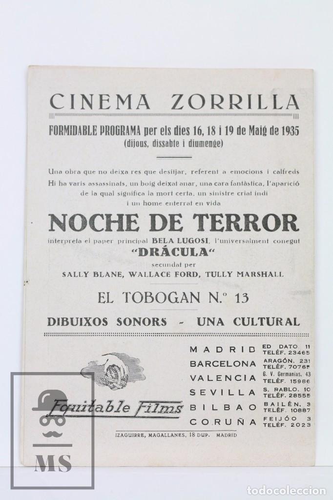 Cine: Programa de Cine Doble - El Tobogan Nº 13 / Dolly Davis, Jim Gerald - Equitable Films - 1935 - Foto 3 - 102712247