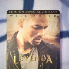 Cine: DVD SOY LEYENDA EDICIÓN ESPECIAL 2 DISCOS STEELBOOK WILL SMITH. Lote 102788055
