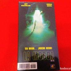 Cine: PELÍCULA LA MOSCA, VHS. PRECINTADO. Lote 102830855