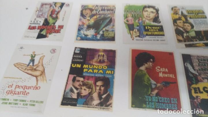 Cine: antiguo lote de programas de mano cine originales al 100% - Foto 2 - 102860891
