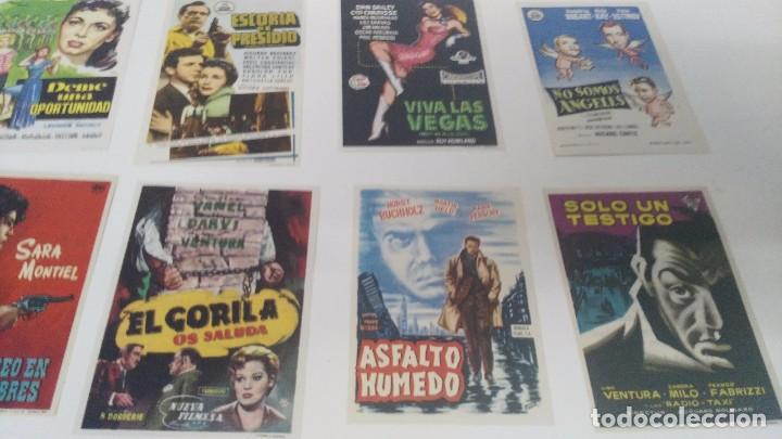 Cine: antiguo lote de programas de mano cine originales al 100% - Foto 3 - 102860891
