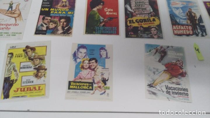 Cine: antiguo lote de programas de mano cine originales al 100% - Foto 4 - 102860891
