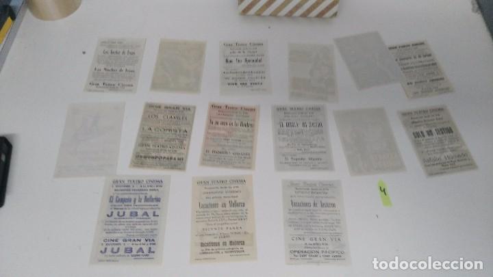 Cine: antiguo lote de programas de mano cine originales al 100% - Foto 5 - 102860891