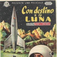 Cine: CON DESTINO LA LUNA. Lote 103140675