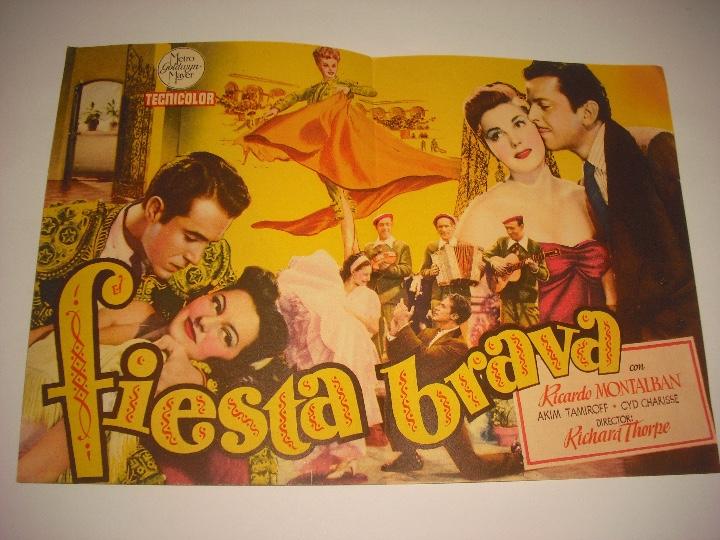 Cine: FIESTA BRAVA, PROGRAMA DOBLE SIN PUBLICIDAD - Foto 2 - 103200843