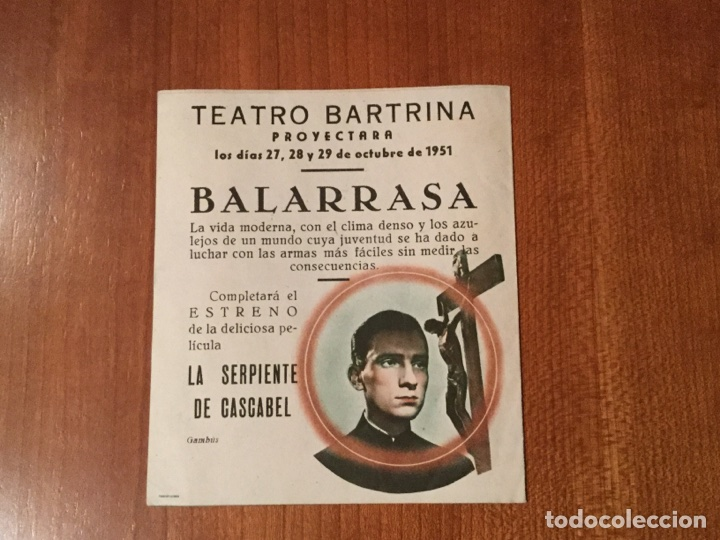 Cine: FOLLETO DE MANO. CINE - Foto 2 - 103444227