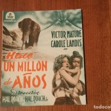 Cine: FOLLETO DE MANO. CINE. Lote 103444323