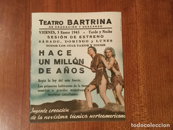 Cine: FOLLETO DE MANO. CINE - Foto 2 - 103444323