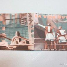 Cine: LA VIDA FUTURA. H.G. WELLS. PRODUCCIÓN DE ALEXANDER KORDA. INFORMACIÓN FOTOS.. Lote 103583007