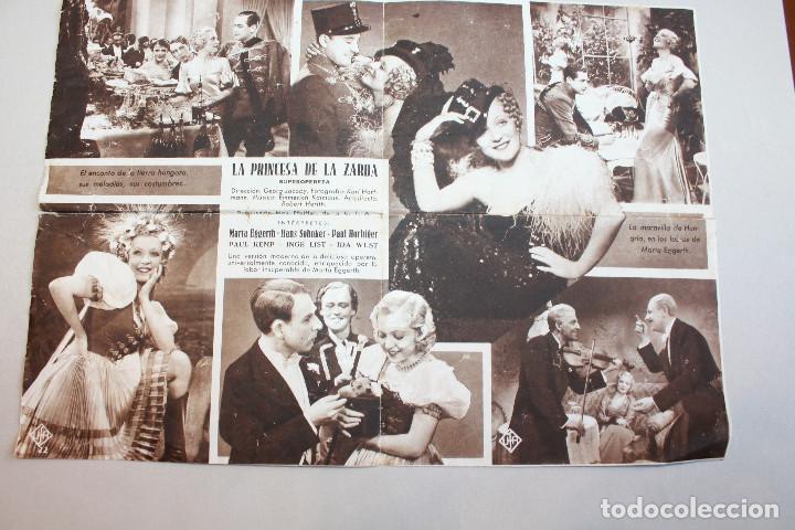Cine: LA PRINCESA DE LA ZARDA. MARTA EGGERTH. INFORMACIÓN FOTOS. - Foto 2 - 103586859