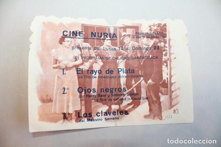 Cine: LOS CLAVELES. MÚSICA DEL MAESTRO SERRANO. INFORMACIÓN FOTOS. - Foto 2 - 103607755