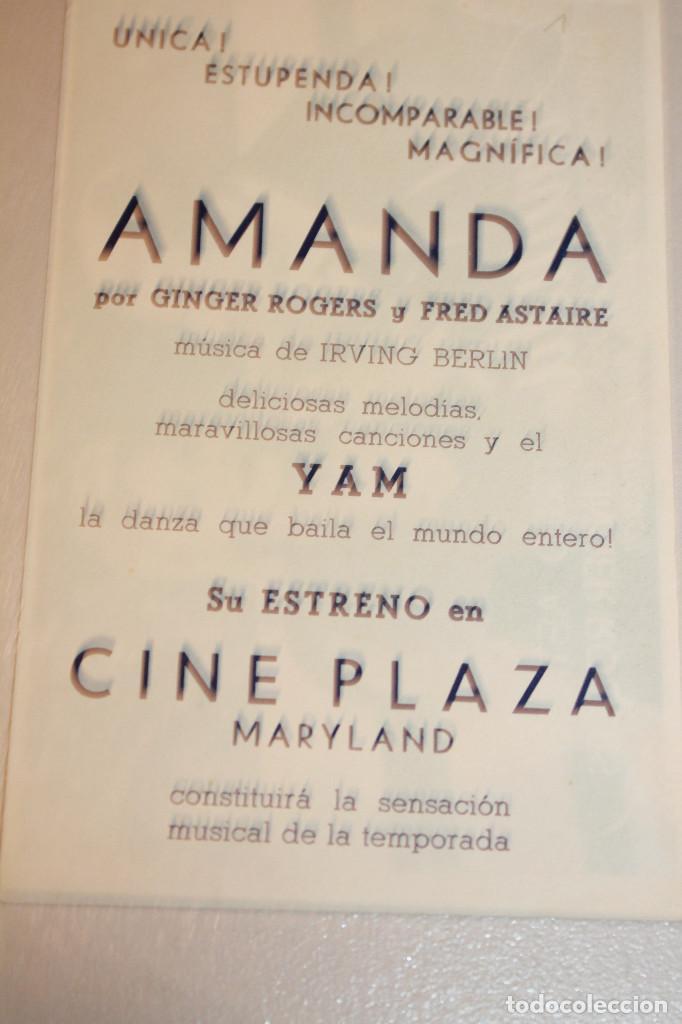 Cine: AMANDA. FRED ASTAIRE Y GINGER ROGERS. INFORMACIÓN FOTOS. - Foto 2 - 103665503