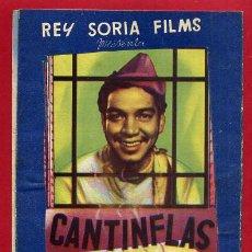 Cine: AHI ESTA EL DETALLE , CANTINFLAS , TROQUELADO , ORIGINAL , S2050. Lote 103708099