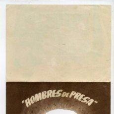 Cine: HOMBRES DE PRESA, CON JOHN WAYNE. TROQUELADO. S/I.. Lote 103805667
