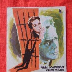 Cine: EL SECRETO DE USHAWS-52, SENCILLO 1963, VAN JHONSON VERA MILES, CON PUBLICIDAD MONTERROSA. Lote 103857139