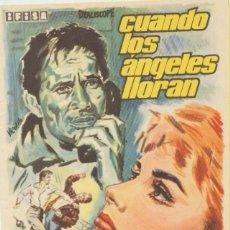 Cine: CUANDO LOS ÁNGELES LLORAN. SENCILLO DE IFISA.. Lote 103869323