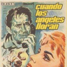Cine: CUANDO LOS ÁNGELES LLORAN. SENCILLO DE IFISA.. Lote 103869503