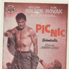 Cine: PICNIC. SENCILLO DE HERNA FILMS.. Lote 103872671