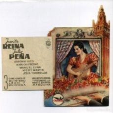Cine: SERENATA ESPAÑOLA, CON JUANITA REINA. TROQUELADO. C/I.. Lote 103887283