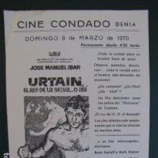 Cine: URTAIN. ALICANTE. Lote 104025523
