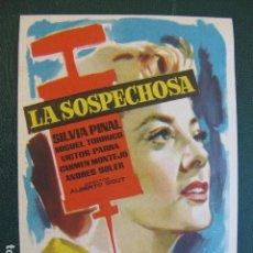 Cine: LA SOSPECHOSA. Lote 104040347