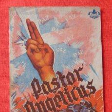 Cine: PASTOR ANGELICUS, DOBLE, CINE CONSTANCIA ALELLA 1944. Lote 104065279