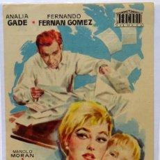Cine: LA VIDA ALREDEDOR, CON ANALIA GADE, V, CARMEN DE LIRIO, DIRECTOR FERNAN GOMEZ . Lote 104287203