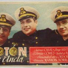 Cine: BOTON DE ANCLA, CON A. CASAL, JORGE MISTRAL, F. FERNAN GOMEZ, DIRECTOR RAMON TORRADO . Lote 104287387