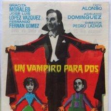 Cine: UN VAMPIRO PARA DOS, TRINI ALONSO, GRACITA MORALES, F. FERNAN GOMEZ, JOSE L. L. VAZQUEZ. Lote 104287771