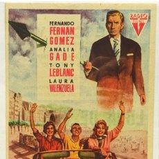 Cine: LUNA DE VERANO, CON ANALIA GADE, TONY LEBLANT, FERNANDO F. GOMEZ, LAURA VALENZUELA . Lote 104288119
