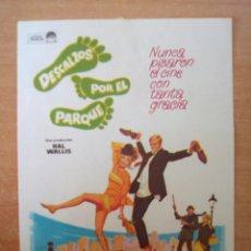 Cine: DESCALZOS POR EL PARQUE. Lote 104292104