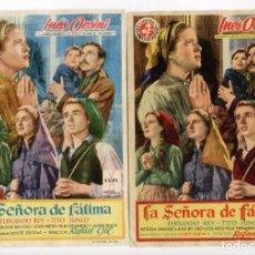 Cine: LA SEÑORA DE FÁTIMA, CON FERNANDO REY.. Lote 104298151