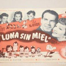 Cine: LUNA SIN MIEL. CLAUDETTE COLBERT Y FRED MC. MURRAY. INFORMACIÓN Y FOTOS.. Lote 104319143