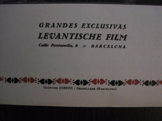 Cine: LA BATALLA -SESSUE HAYAKAVA- EXCLUSIVAS LEVANTISCHE FILM -VARIAS HOJAS -VER FOTOS- (C- 4058) - Foto 9 - 104395875