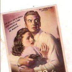 Cinema - PROGRAMA CINE EL BESO DE LA MUERTE VICTOR MATURE BRIAN DON LEVI DIRECTOR HENRY HATHAWAY - 104446527