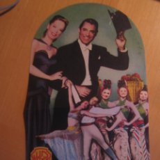 Cine: NOCHE Y DIA CARY GRANT ALEXIS SMITH FOLLETO MANO ORIGINAL TROQUELADO NIGHT AND DAY MICHAEL CURTIZ. Lote 104454671