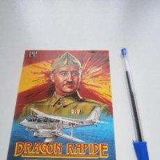 Cine: DRAGON RAPIDE - FOLLETO DE MANO DEL ESTRENO DE LA PELÍCULA - CÁDIZ - JUAN DIEGO - FRANCO. Lote 104547679