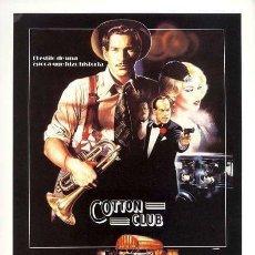 Cine: COTTON CLUB / PELICULA DVD . Lote 104588495