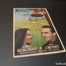 Cine: PROGRAMA DE MANO ORIGINAL - LA PIMPINELA ESCARLATA ( CON PUBLICIDAD TEATRO PRINCIPAL CINEMA ) . Lote 104747419