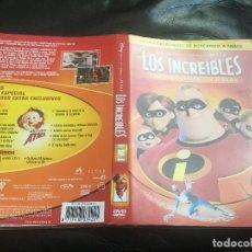 Cine: LOS INCREIBLES ,RANGO, KUNG FU PANDA 2, STAR WARS EPISODIO 2 DVD. Lote 105356187