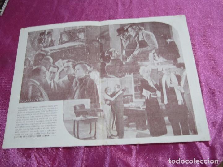 Cine: TRES ANCLADOS EN PARIS PROGRAMA DE CINE DOBLE. HISPANIA TOBIS C2 - Foto 2 - 105385715