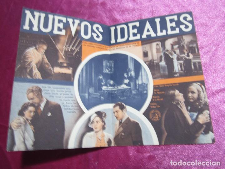 Cine: NUEVOS IDEALES FELIX DE POMES PROGRAMA DE CINE DOBLE. - Foto 2 - 105534171