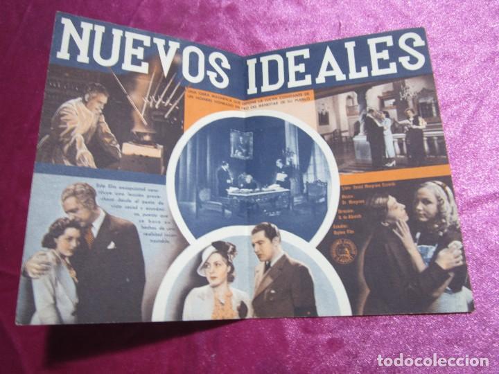 Cine: NUEVOS IDEALES FELIX DE POMES PROGRAMA DE CINE DOBLE. - Foto 5 - 105534171