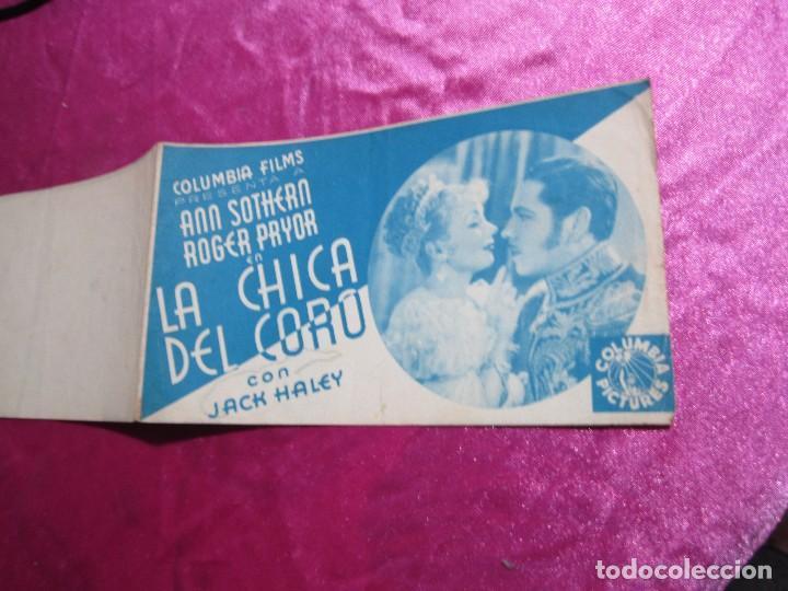 Cine: LA CHICA DEL CORO ROGER PRYOR PROGRAMA DE CINE DOBLE C2 - Foto 3 - 105536227