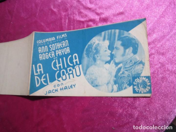 Cine: LA CHICA DEL CORO ROGER PRYOR PROGRAMA DE CINE DOBLE C2 - Foto 4 - 105536227