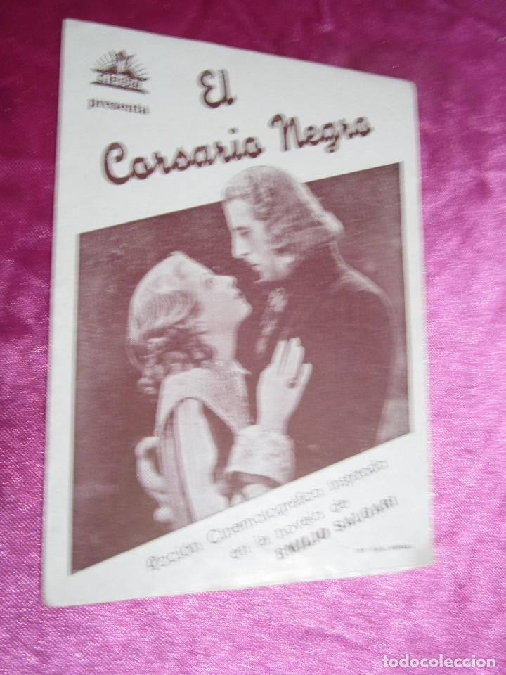 Cine: EL CORSARIO NEGRO CIRO VERRATTI PROGRAMA DE CINE DOBLE C2 - Foto 6 - 105542423