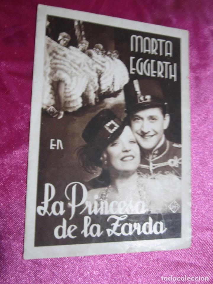 Cine: LA PRINCESA DE LA ZARDA MARTA EGGERTH PROGRAMA DE CINE DOBLE C2 - Foto 6 - 105543963