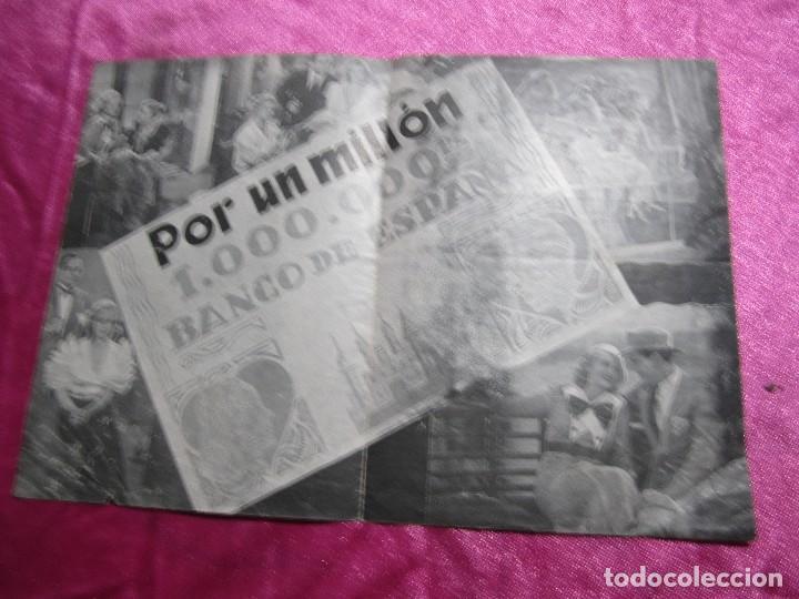 Cine: POR UN MILLON GUSTAV FROELICH CAMILA PROGRAMA DE CINE DOBLE C2 - Foto 6 - 105545935