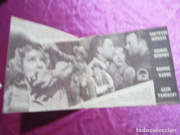 Cine: COGIDO EN LA TRAMPA PROGRAMA DE CINE DOBLE CINE POMBO MIERES C2 - Foto 2 - 105547371